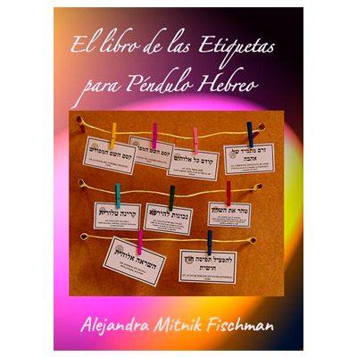 libro etiquetas pendulo hebreo